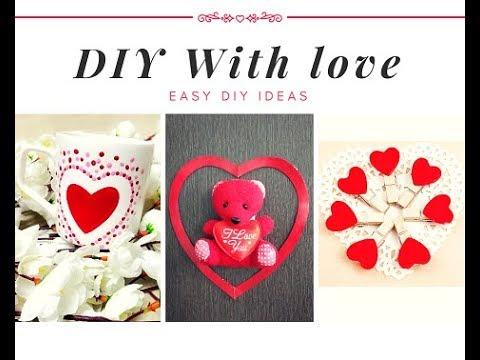 Easy DIY ideas || Anniversary gifts DIY ideas || DIY ideas for your Love || Art & Essentials
