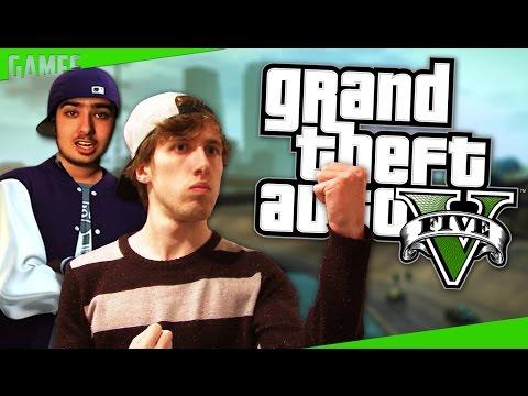 JOS & KEVIN VS LEIPE MAN - Grand Theft Auto V