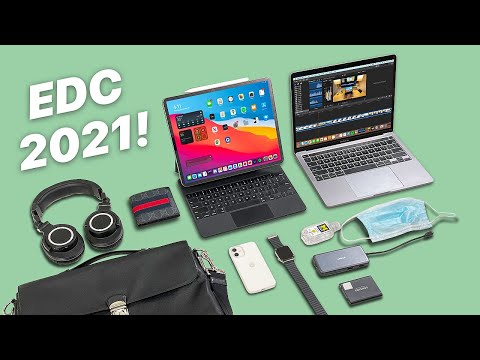 What's In My Tech Bag 2021-  My Everyday Carry!