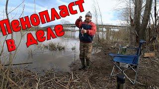 Рыбалка на реке белая весной насадка пенопласт