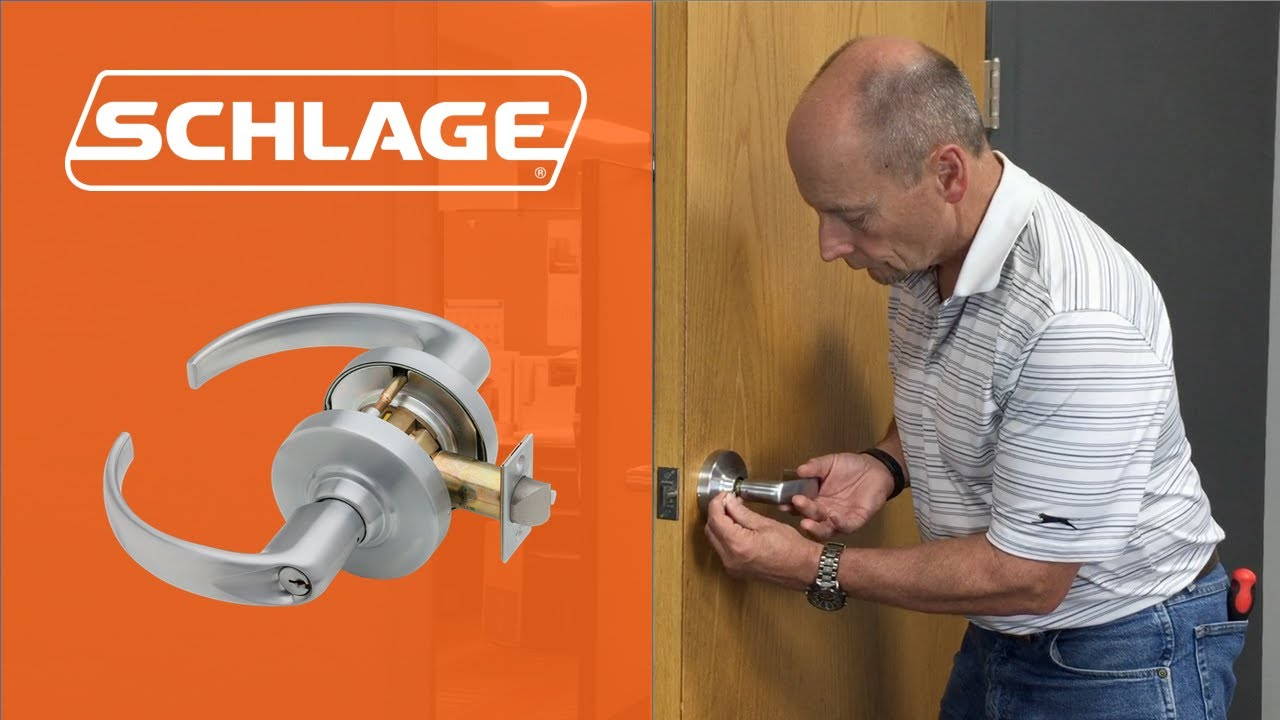 maxresdefault how to install the schlage nd lock youtube
