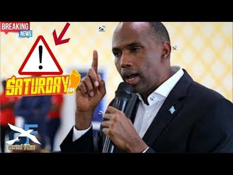 DIGNIIN: RW Kheyre maalinta sabtida anaga iyo shabaab mid baa somalia u haraayo Daawo dhaarti Kheyre