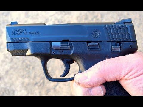 Shooting The S&W Shield .45