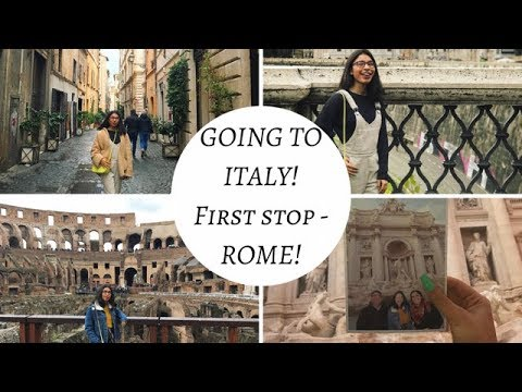 GOING TO ROME! ITALY TRIP 2018! TRAVEL VLOG/GUIDE