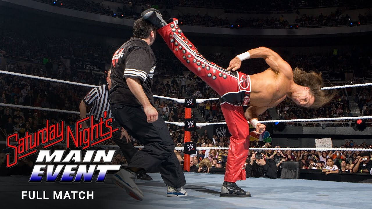 FULL MATCH - Michaels vs. McMahon – Street Fight: Saturday Night's Main Event, March 18, 2006