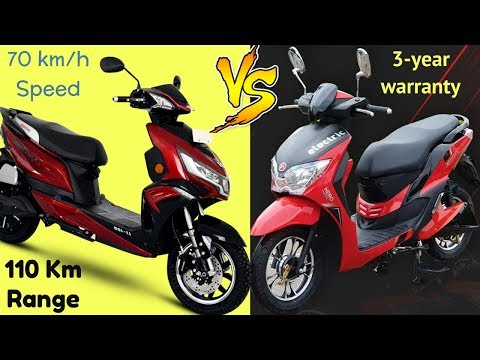 Hero Dash Electric Scooty Vs Okinawa Praise Pro Specs Review   Electric Scooter Comparison