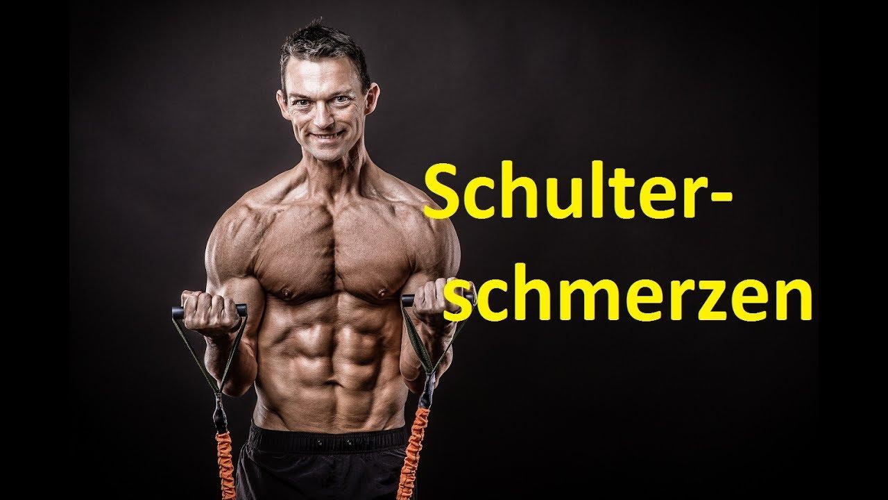 Muskelaufbau bei Schulterschmerzen+++Geeignete Übungen..