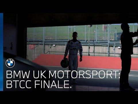 The storm is the calm. BTCC Finale with Colin Turkington.