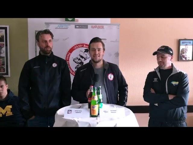 Pressekonferenz F. A. S. S. Berlin gegen Tornado Niesky