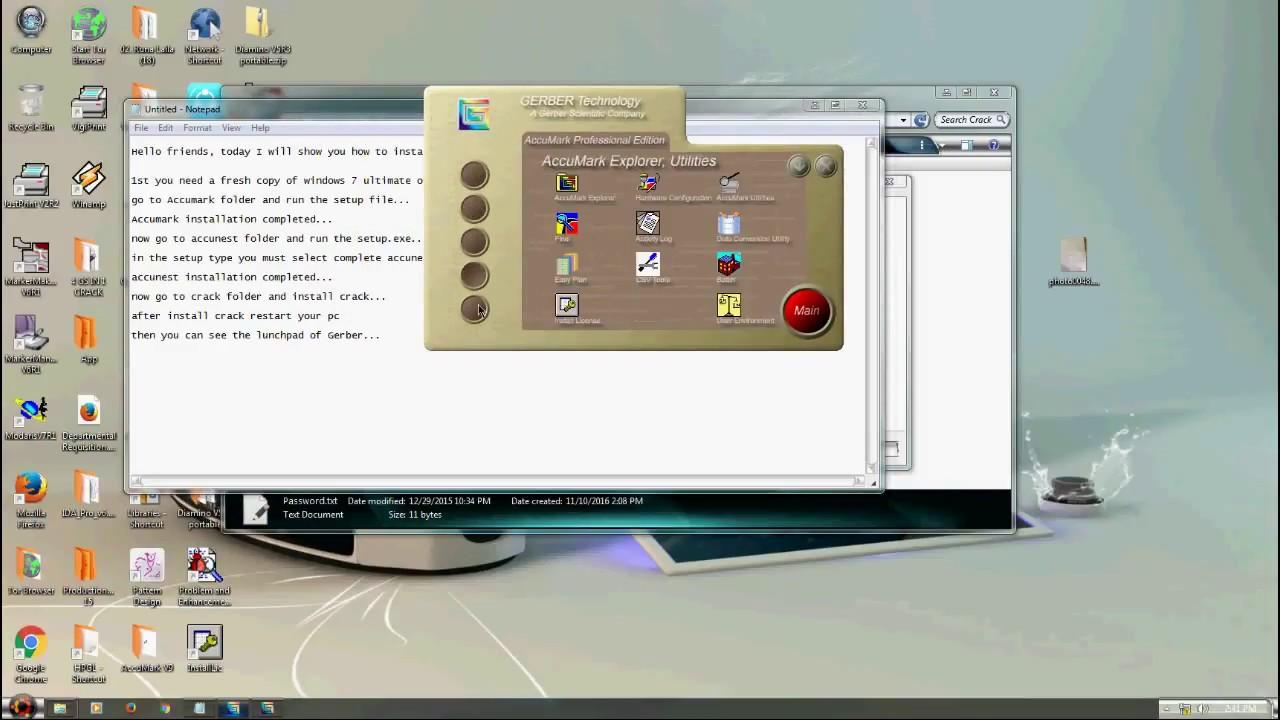 Gerber accumark family 9. 0. 0. 245 free download.