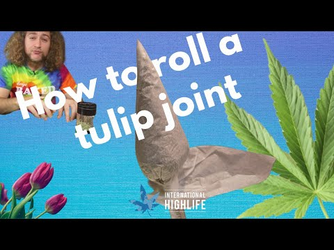 How to roll a tulip joint | International Highlife