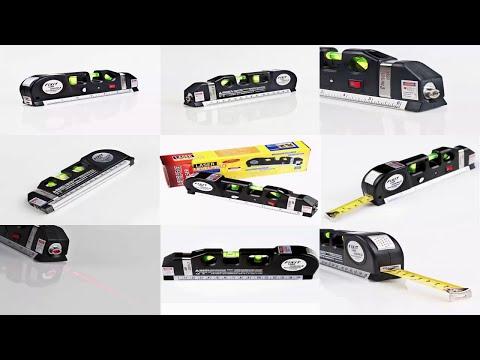 Все инструменты для домашнего мастера строительный лазерный уровень линейка рулетка