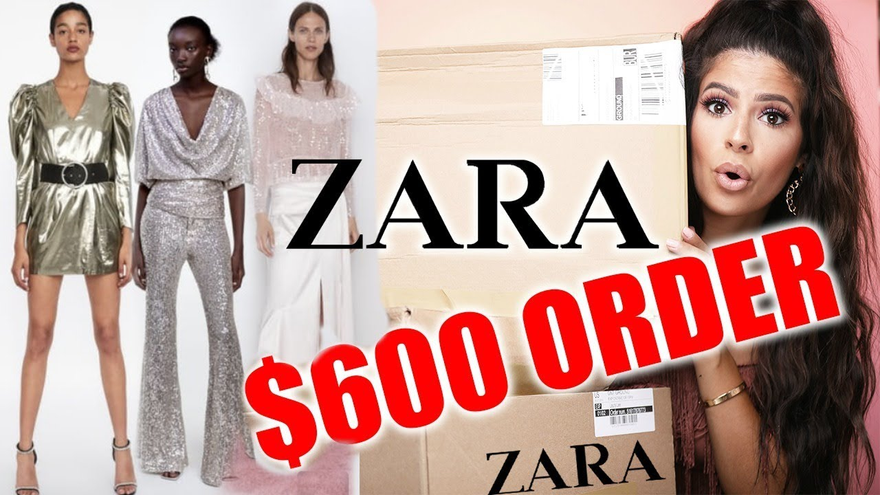 I SPENT $600 ON ZARA CLOTHES TRY ON HAUL ...ohhh boy! 9