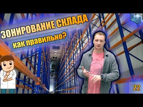 Фармацевтический склад. Зонирование склада. Мультирежимная холодильная камера.