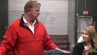 """Встреча с игроком """"Astros""""  Larry Dierker"""