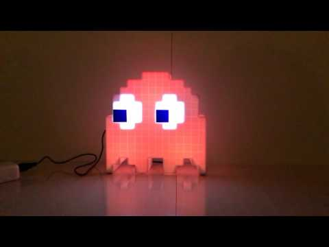 Pac Man Ghost Light LED Review