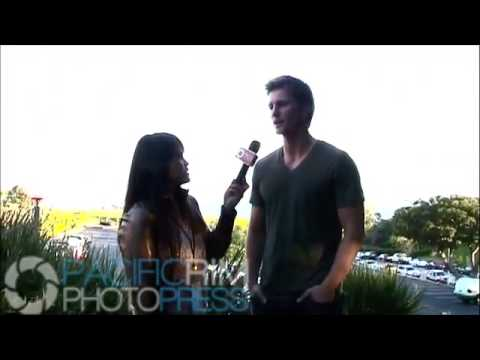 Thad Luckinbill of Young and The Restless at She Cares Celeb Basketball Event