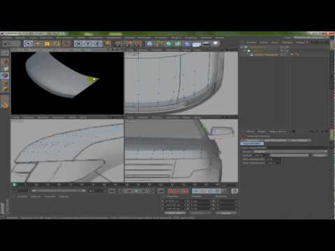 Cinema 4D - Modeling Car - Part 1
