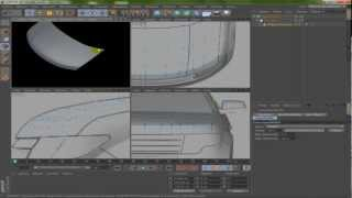 Cinema 4D - Modeling Car - Part 1