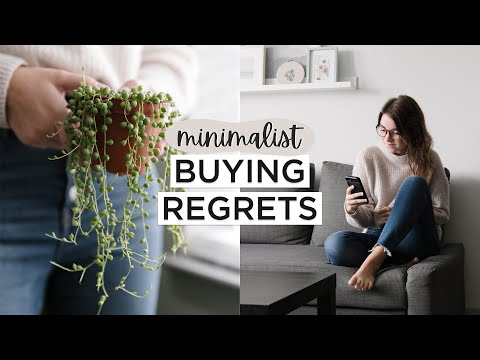 10 Things I Wish I DIDN'T Buy | Minimalism REGRETS