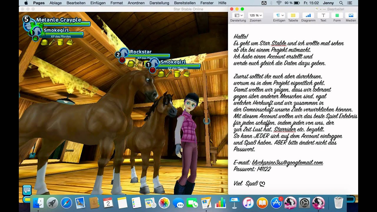 star stable account f u00fcr alle