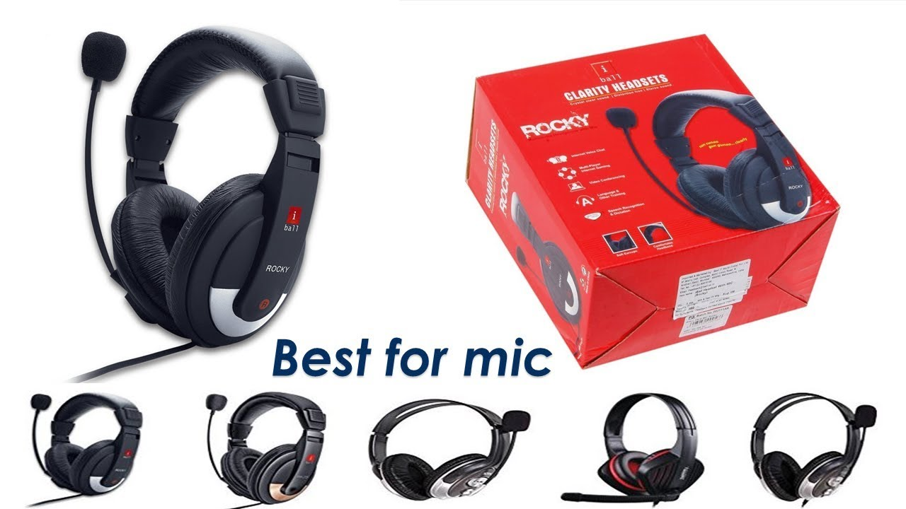 Best Voice Recording Headphone Unboxing Headphone With Mic Tech Orient Youtube