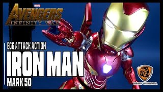 Beast Kingdom Avengers: Infinity War Egg Attack Action Iron Man Mark L Previews Excl | Video Review