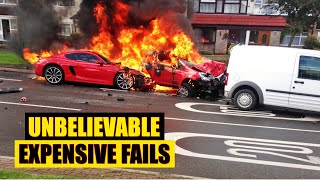 TRY NOT TO LAUGH-Insanely Funny Expensive Fails this is going to cost serious money to fix