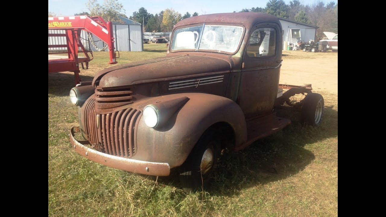 1941 chevy truck that going to be my next project but sold it to my uncle youtube