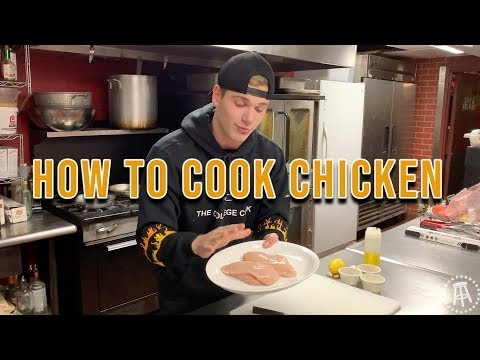 The Perfect Chicken Breast | The College Cooking Show