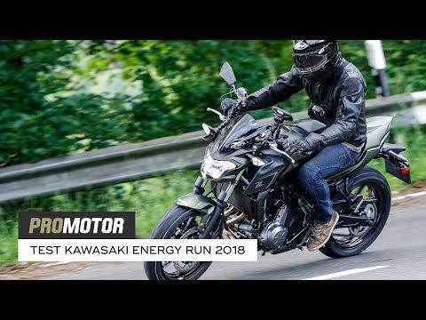 Kawasaki Energy Run 2018: Kawasaki Z650 - Promotor