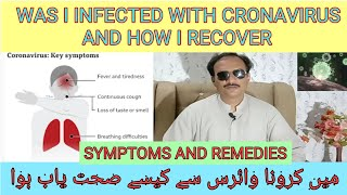 WAS I INFECTED WITH CRONAVIRUS  HOW I RECOVERED FROM VIRUS  SYMPTOMS AND REMEDIES