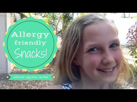 Milk-free, egg-free, tree nut-free, peanut-free snacks | AllerJ