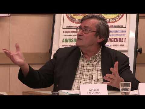 Bernard Astruc et Lylian Le Goff - Conférence des Consommateurs pas cobayes du 27 oct. 2017