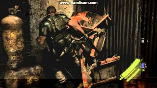 resident evil 6 PC FOOTAGE ON AMD RADEON HD 7770