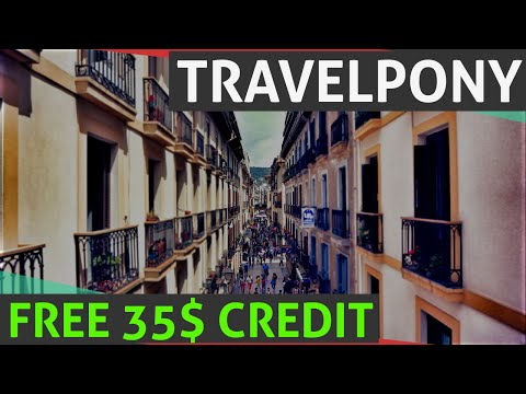 TravelPony Coupon Code 35$ OFF, NEWLY UPDATED, Hotels Discount, Free Credits And Vouchers