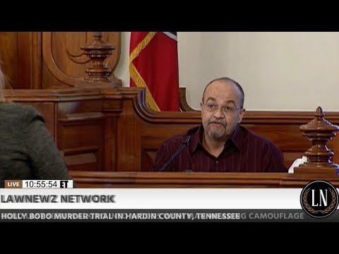 Holly Bobo Murder Trial Day 5 Part 1 Victor Dinsmore Testifies 09/15/17