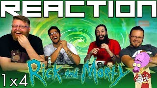 """Rick and Morty 1x4 REACTION!! """"M. Night Shaym-Aliens"""""""