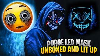 Purge LED Mask Unboxed Lit Up & Tested By MrAlanC