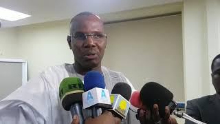 Issein Abdoulaye président du CNDS-PPRC au Corinthia hôtel de Khartoum.
