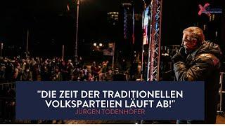 Antrittsrede von Jürgen Todenhöfer am Brandenburger Tor in Berlin vom 12.11.2020 | Team Todenhöfer