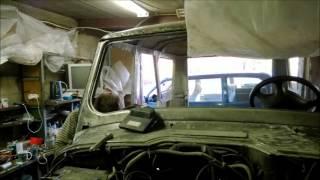 Подготовка и покраска УАЗ U-Pol Raptor