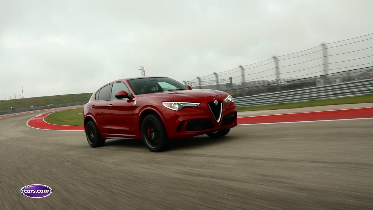 2018 Alfa Romeo Stelvio Quadrifoglio at the Circuit of The Americas ...