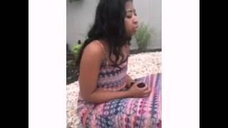 Girl sangs Jhené Aiko the worst