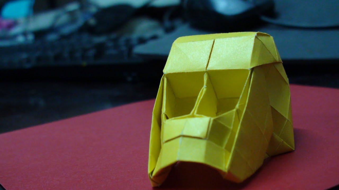origami skull complete tutorial hojyo takashi youtube