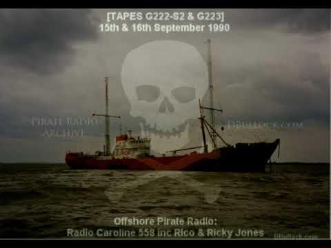 [G223-EDIT] 5. Caroline 558 ~  15-16/09/1990 ~ Offshore Pirate Radio