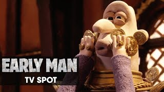 "Early Man (2018 Movie) Official TV Spot – ""Funniest Movie In Ages"" - Eddie Redmayne, Tom Hiddleston"