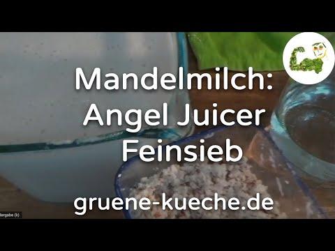 Feinsieb für Mandelmilch - Angel Juicer Siebe ausprobiert (Teil 2/6)
