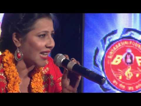 मन्जुको लागि कोहि छ Manju Poudel & Jitu Nepal perforforming @ Bindabasini Sangeet Sanjh 2073