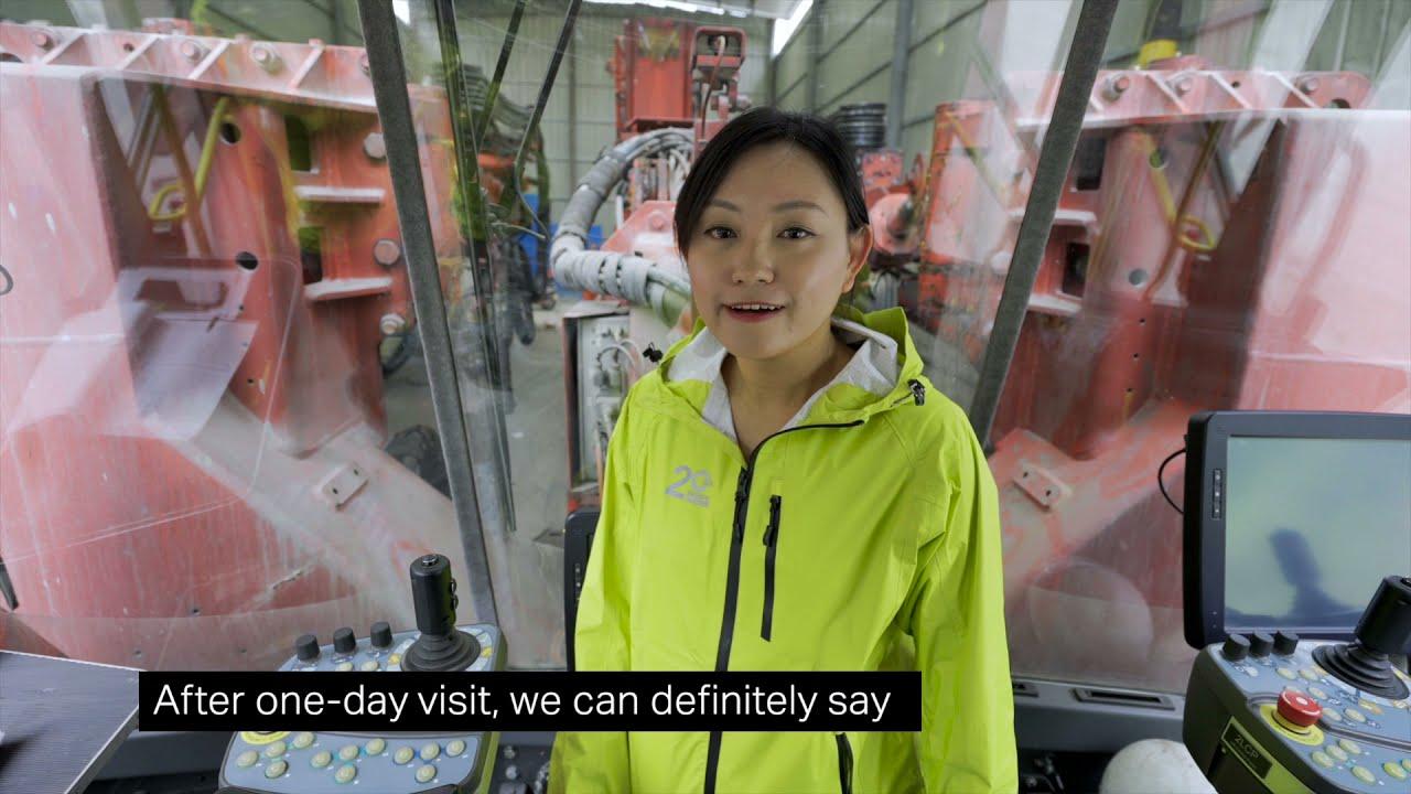 Sandvik DT1131i success at Nanchang-Jingdezhen-Huangshan High-speed Railway - Xiwuling Tunnel